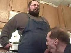 Fat Dicked Cigar Bear Getting Blown