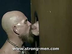 Beard Glory Hole
