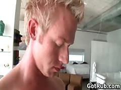 Steamy Bro Get His Sexy Body Rubbed And Jizzster Sucked 11 By GotRub
