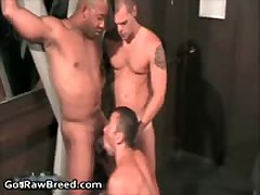 Kamrun, Andre Barclay And Dominik Rider In Super Sexy Queer Gangbang 5 By GetRawBreed