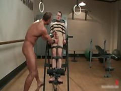 Josh Gets Bound On Chair And  To Suck Cock 1 By BoundPride