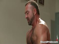 Josh Strung And Hung From Ceiling Gay BDSM Clip 3 By BoundPride