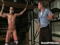 Phenix And Trent In Very Extreme Gay Porno S&M Four By BoundPride