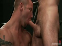 Brenn, Adam And Blake In Sexy Extreme Queer Bdsm S&M S&M 3some 6 By BoundPride