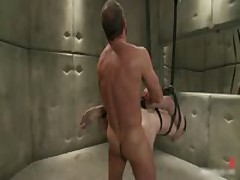 Josh And CJ In Horny Extreme Gay Bondage S&M Fetish Movie 7 By BoundPride