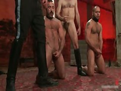 Alessio And Leo In Horny Extreme Gay Bondage S&M Fetish Movie 16 By BoundPride