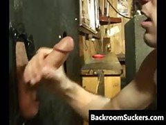 Fellatio Through The Glory Hole 2 By BackRoomSuckers