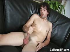 Glenn Philips Wanking His Fine College Cock 4 By CollegeBF