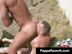 Extreme Homosexual Hard Core Arse Making Out Homosexual Video 1 By PappaRaunch