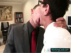 Seth Having Some Free Gay Sex Pleasure With Colleague By WorkingCock