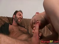 Married Straight Guy Gets Anus Fingered 2 MarriedBF