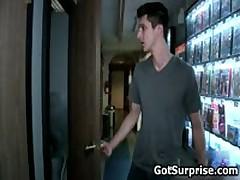 Hetero Guys Getting Homo Surprise Weiner Fellatio 11 By GotSurprise