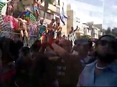 Gay Parade In Israel.