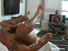 Hairy Muscle Guys Power Fucking
