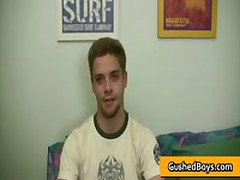 Gay Clip Of Shane Gets His Hard Twink Dick Wanked And Strocked 3 By GushedBoys