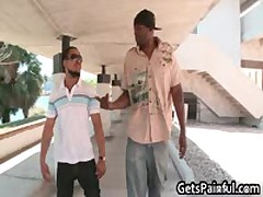Dude Getting His Tiny Butt Ruinded By Large Black Boy Dick 2 By GetsPainful