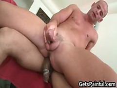 Muscled Dude Riding Some Fat Black Dick Like A Pro 10 By GetsPainful