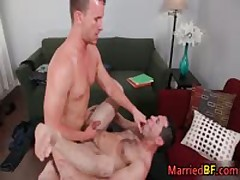 Hunky Married Heterosexual Guy Gets His Fine Asshole Pounded 6 MarriedBF