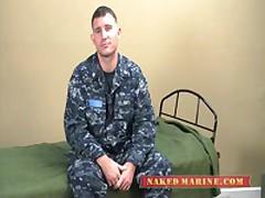 Sailor Jacking His Salty Cock