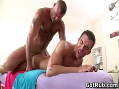 Guy Gets Very Deep Butt Fuck Penetration 4 By GotRub
