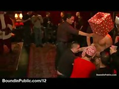 Hundreds Of Guests Groping Guy At Xmas Party