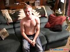 College Hottie'S First Jackoff Video