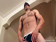 Masked Bro Pulling Off And Cums 1 By GotMasked