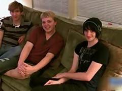3 Boys Having Some Pleasure 1 BoysFeast