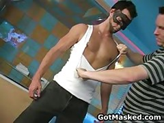 Hunky Homosexual Guy Undressing And Busts His Nuts 8 By GotMasked