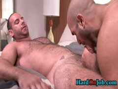 Hairy Hunk Gets His Hairy Ass Fucked 2 By HardOnJob