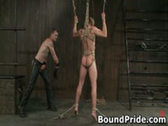 Christian Trent Gets His Tortured Ass Fcuked 6 By BoundPride