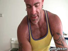 Sexy Guy Gets Oiled Up And Prepped For Gay Massage 2 By GotRub