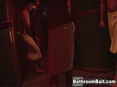 Shabe Frost In Public Bathroom Orgy 3 By BathroomBait