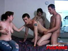 Bisexual Amateur Orgy
