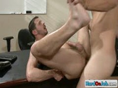 Tight Ass Fucking At The Office By Hardonjob