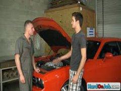 Car Mechanic Hard At Work By Hardonjob