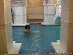 Great Looking Boys In Swimmingpool By Hammerbf