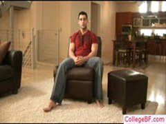 College Stud Busting His Nuts By Collegebf