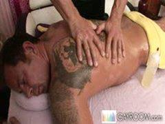 Pervert Masseuse Fondling Therapy