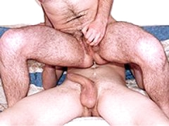 Wet And Messy Sperm Drips Out From Gay Ass Hole
