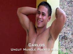 Uncut Puerto Rican Muscle Carlos