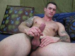 Hot Muscle Man Jerks