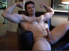 Str8 Muscular Hunk Spreading Seed