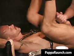 Radical Queer Hard Core Pooper Making Out Bondage Free Porn Scenes 3 By PappaRaunch