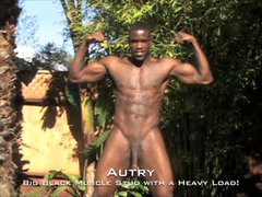 Big Black Muscle Stud