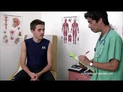 College Boy Physicals - Justin