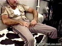 Older Handyman Fucks A Cop